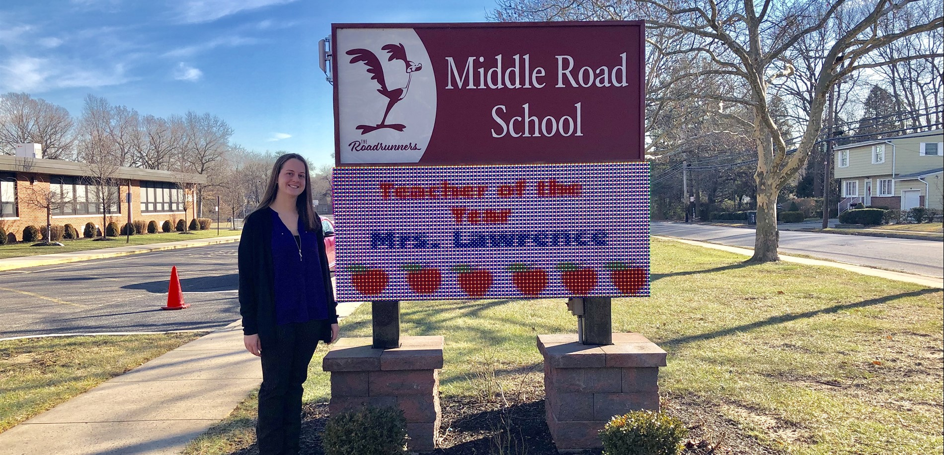 Teacher of the Year ~ Mrs. Lawrence