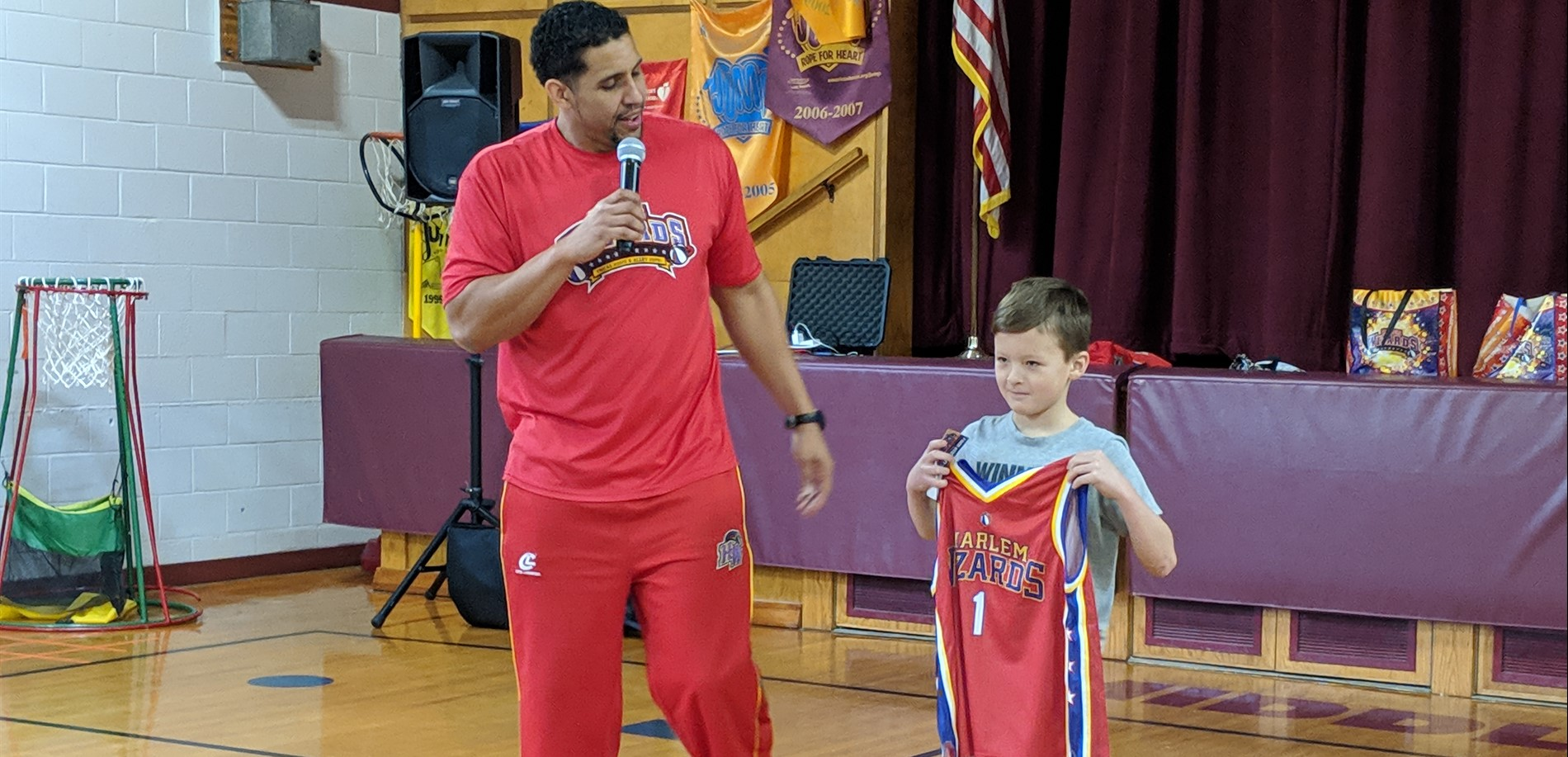 Harlem Wizards Visiting MRS