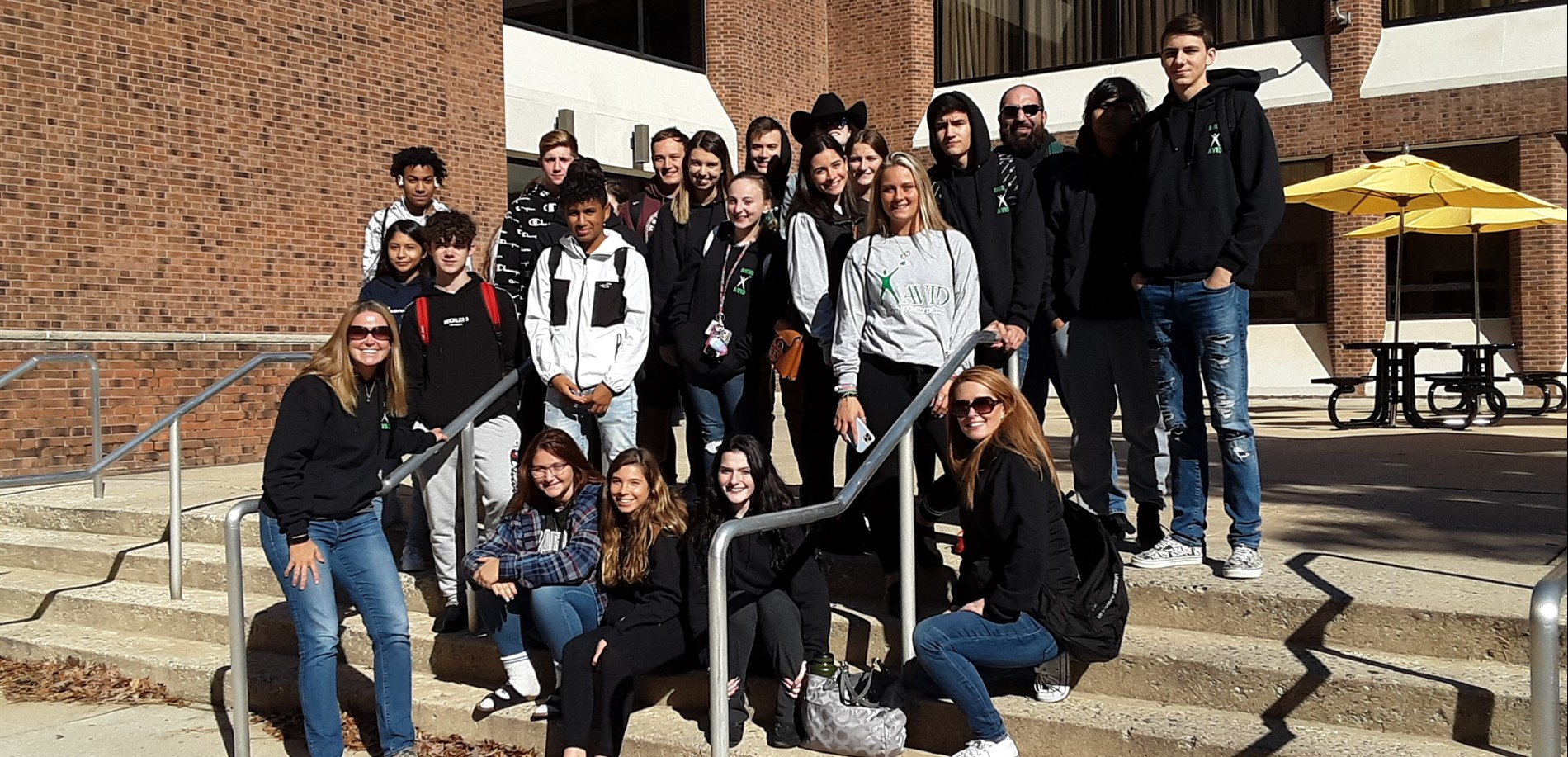 AVID 11 and AVID 12 trip to Rowan University!
