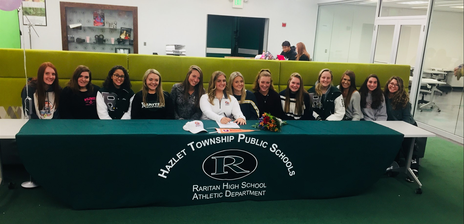 Congratulations to Lily Tomasiello for signing with Post University for softball!!