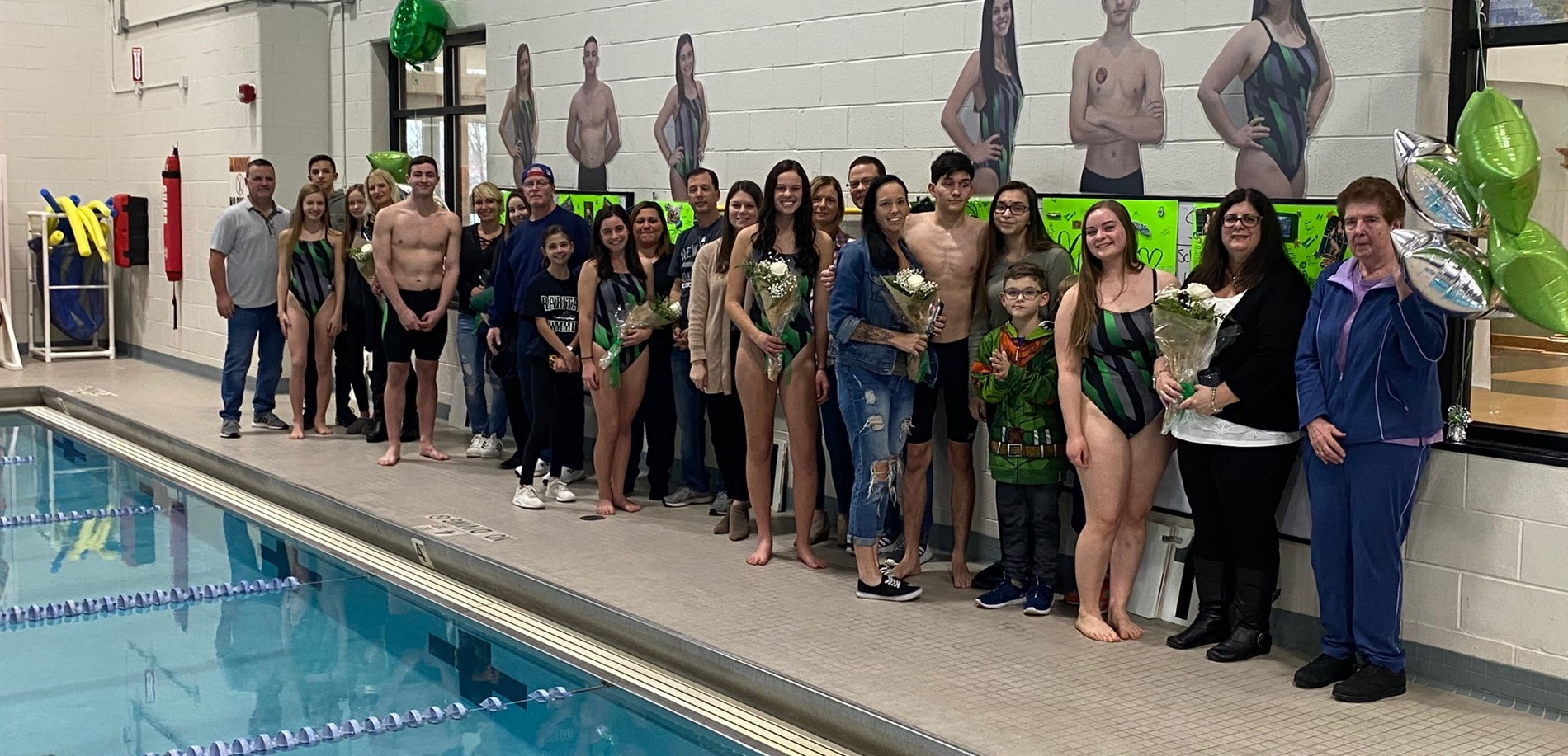 Swimming Senior Night 2020