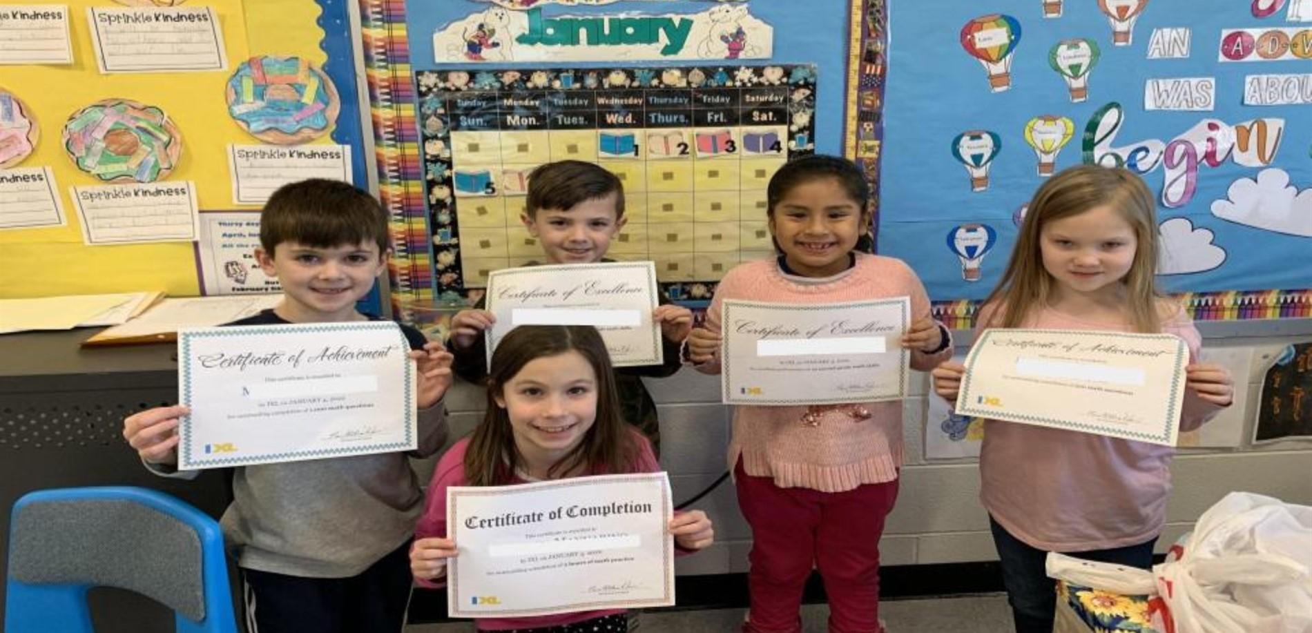 LDS Eagles soar high earning IXL Certificates
